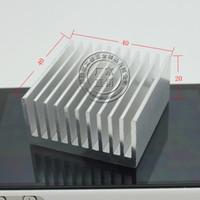 Wholesale Heatsink MM aluminum heat sink electronic radiator chip CPU cooler fan