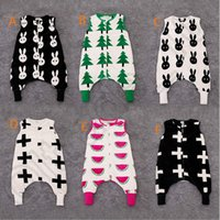Cheap 30PCS HHA621 INS Baby Romper Cartoon Babies Sleeping bag Clothing Flannel Thickening Baby One-Piece Pajamas Clothes
