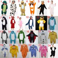 pajamas for children - Unisex Children Cute Pajamas Onesies Pajamas Animal Cute Cartoon Pyjamas Anime Cosplay Pajama Costumes Sleepwear For Kids