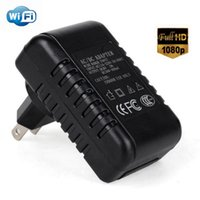 Wholesale Full HD P WiFi Wall Charger Adapter Spy Camera
