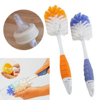 Wholesale Brand new Baby Milk Feeding Bottle Nipple Pacifier Teapot Nozzle Spout Tube in Cleaning Brush