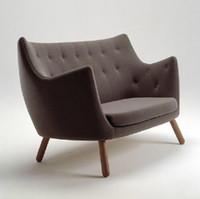 Wholesale High quality home furniture Finn Juhl Pelikan Chair two seat sofa chair Creative leisure chair chaise longue chair