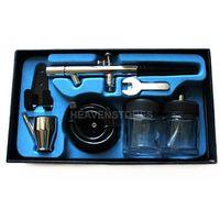 airbrush makeup tips - Hot Sales mm Dual Action Airbrush Spray Paint Painting Gun Kit for Makeup Tattoo hv3n