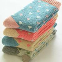 100 % wool socks - 2015 Top Fashion New Women Wool Casual Sexy Stockings Socks Women Ms Wool Socks Female Thick Towel To Keep Warm In Winter Rabbit Terry
