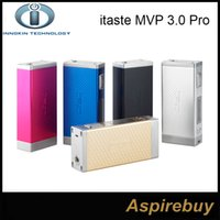 innokin - 100 Original Innokin iTaste MVP Pro Starter Kit with iSub G Tank MVP Pro W MVP W mah Battery Box Mod Colors In Stock