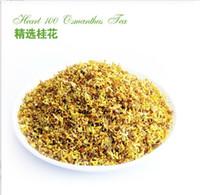 Acheter Thé floraison gros en chine-Osmanthus roi thé fleurs séchées 50g / sac de Chine Guilin fleur originale fragance 300g gros / lot