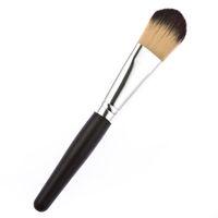 best cheap powder brush - Professional black case wood handle cheap best makeup brush high quality kabuki powder makeup brush tool DHL free