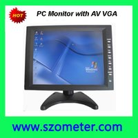 Wholesale Desktop inch TFT LCD Screen Car VGA Monitor with RCA AV for car PC