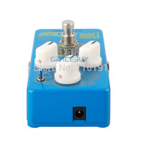 ad options - Biyang AD BABY BOOM Time Machine Analog Delay Blue Finish MS Toggle Option Electric Guitar Effect Pedal Musical Instrument