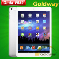 "Octa Core Android 4.4 2GB Original Onda V989 Tablet PC Octa Core A80T 9.7"" Retina 2048*1536 Screen Android 4.4 2GB 32GB Bluetooth 8MP camera"