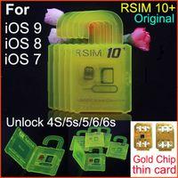 Wholesale R SIM plus Unlock iphone s CDMA SRPINT AU SB ios9 ios9 G G direct use NO Rpatch RSIM R SIM r sim IOS7 X X