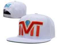 Wholesale New Hot TMT Courtside The Money Team Snapback hats white black blue cheap mens women djustable sports cap freeshiping