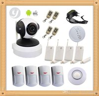 Wholesale Factory Direct Sale WIFI Camera Home Alarm System Network WIFI Smart home alarm LYD