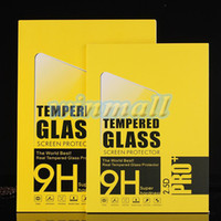 Wholesale 2 D Round Edge H MM Tempered glass Screen Protector Film For inch Ipad Pro Tablet PC