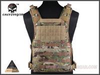 airsoft vest - Cordura EMERSON MOLLE RRV Vest Back Panel RRV Vest MultiCam Tactical Vest Airsoft Painball Military Army Combat Gear EM7444
