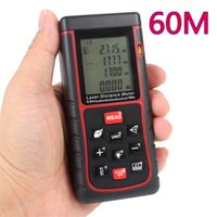 height measurement ruler - Handheld laser range finder m electronic ruler meter infrared rangefinder Area angle height measurement testing tool