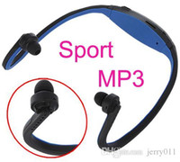 Cheap Sport MP3 Headset WMA Music Player TF  Micro SD Card Slot Wireless Headphone Earphone