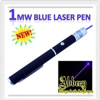 Wholesale DHL Shipping mw Violet nm Laser Pointer Pen New Powerful Violet Purple Blue Light Laser Pointer Pen Laser Beam Good Quality