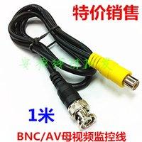 Wholesale BNC to AV RCA female lotus q9 adapter CCAV cable bnc av m OHM