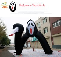 airblown halloween inflatables - Halloween Haunted Ghost Archway Arch Inflatable Airblown ft
