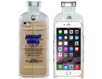 absolut leather - ABSOLUT VODKA Design TPU Rubber Shell Case for iPhone Plus Transparent