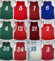 arrival order - 2015 Christmas Day New Arrival swingman Basketball Jerseys Sportswear Jersey S XL Mix order