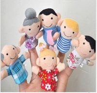 Wholesale Loving family of six manual wool refers to accidentally early childhood story finger accidentally pack