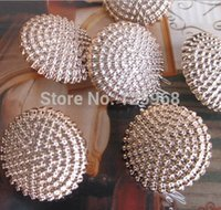 bargain gold jewelry - Bargain for Bulk mm round rose gold button garment accessories and jewelry accessories