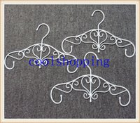 Wholesale DHL Freeshipping Hangerworld Ancient Metal Flower Hanger for Clothes