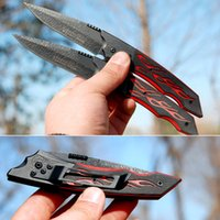 switchblade - Foldable Survival Switchblade Portable Folding Steel Knife Pocket Paring Penknife Home Necessity os413