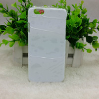Wholesale DIY D Blank sublimation Case cover Full Area Printed For IPHONE S IPHONE S PLUS IPHONE IPHONE PLUS