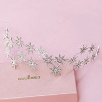 Wholesale Five Star Hairband Tiaras Headpiece Stunning Bridal Accessories Headband Woman Hairband