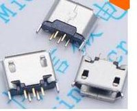 ab types - Micro USB Type AB Female degrees Pin DIP PCB Soldering Connectors pin Micro USB Jack