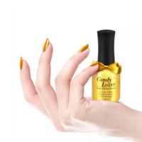 big nail art - Candy Lover uv gel polish nail art soak off colors ml Gold Color big Bottle cosmetics long lasting Magic gel polish Cheap