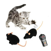 Wholesale Cute Interesting Electronic Remote Control Mouse Toy for Trick Playing with Cat
