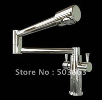 bathroom concepts - Brand New Concept Swivel Kitchen Faucet Polished Chrome Bathroom Mixer Brass Basin Sink Tap CM0887 Mixer Tap Faucet