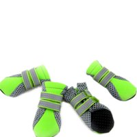 Wholesale Hot New Pet Shoes for Small Big Dog Fleece Colorful Shoes High Quality Retail