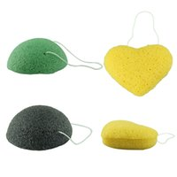Wholesale Stylish Natural Perfect Travel Companion Face Cleaning konjac Sponge Dry Packing