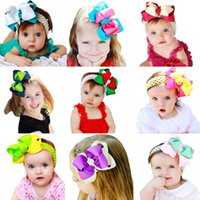Wholesale 2015 new designer children s Hair accessories ribbon bows with Alligator clip Grosgrain ribbon bowknot hair clips boutique baby headband