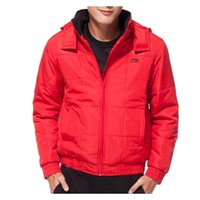 Wholesale Original LINING men s Cotton padded AJMF037 Hoodie Sportswear