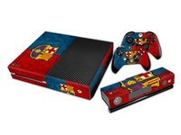xbox one - FCB Barcelona Protective Vinyl Decal Skin Stickers For xbox one Console Controllers Kinect Skin Seeds