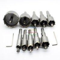 carbide tips - New Set mm mm Tungsten Steel Carbide Tipped TCT Drill Bit Metal Cutter Core Hole Saw