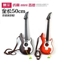 Wholesale Simulation oversized children s toys musical instruments guitar toy guitar Awesome pitch