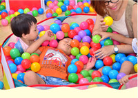 Wholesale Children s tent house pool game Dollhouse game ball pool ocean outdoor paradise baby birthday gift cm baby ocean ball pool ball tease