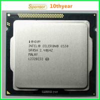 Wholesale G530 G550 G1620 Intel Original desktops cpu Intel Celeron Dual Core G530 Ghz M nm LGA Dual CORE