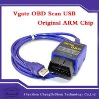 arm chips - Original ARM Chip Vgate ELM Bluetooth OBD SCAN OBDII OBD2 Scanner USB Diagnostic Tool V2