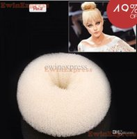 Wholesale Good New Hot x Hair Bun Mesh Shaper Styler Donut Former Ring Hairdresser Accessories Middle
