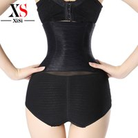 belt buckle trim - New Arrive Trimmer Cincher women underwear body shaper stomach shapewear waist Rows Buckle Corset xxl Tummy Slimming Belt