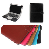 Wholesale PU Leather Cases Protective Protector Sleeve Cover for Macbook Air quot A1369 A1466 Laptop Cover Fashion Good Quality