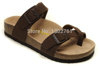 Wholesale New Birkenstock Mayari genuine women Two buckle cork sandals